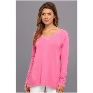 C&C California Double V-Neck Relaxed Sweatshirt M